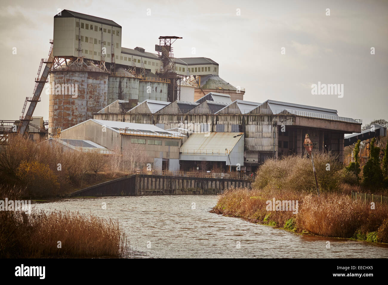 Tata Chemicals Europe plant part of its soda ash and sodium bicarbonate business in Northwich, Cheshire. - Stock Image