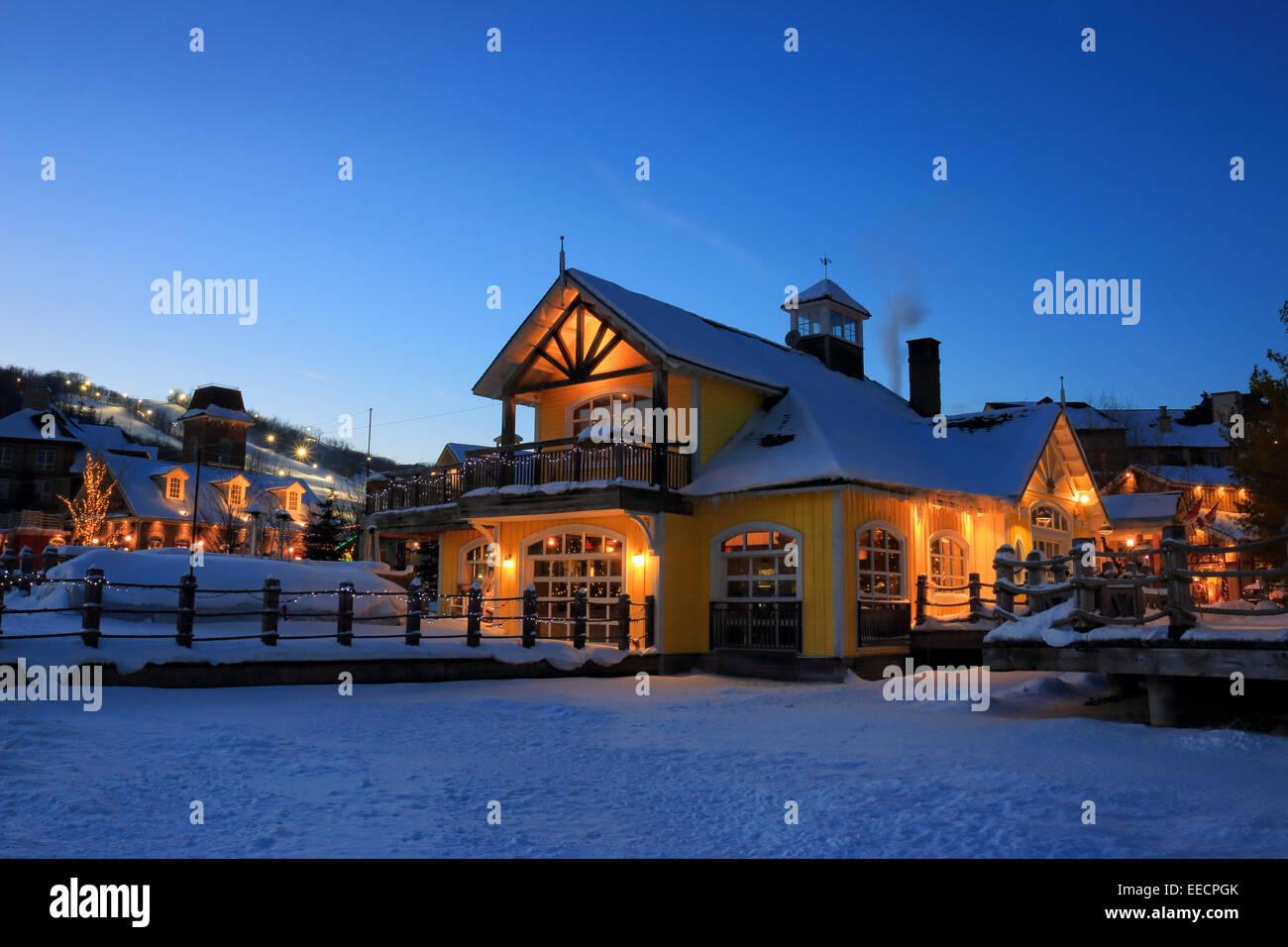 Blue Mountain Resort Canada Stock Photos Amp Blue Mountain
