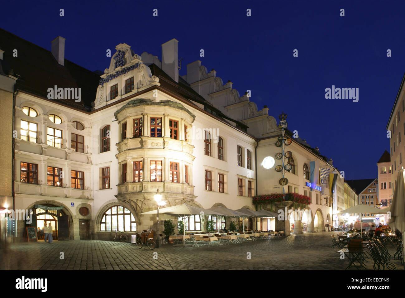 Beleuchtung München deutschland bayern muenchen münchen hofbraehaus hofbräuhaus
