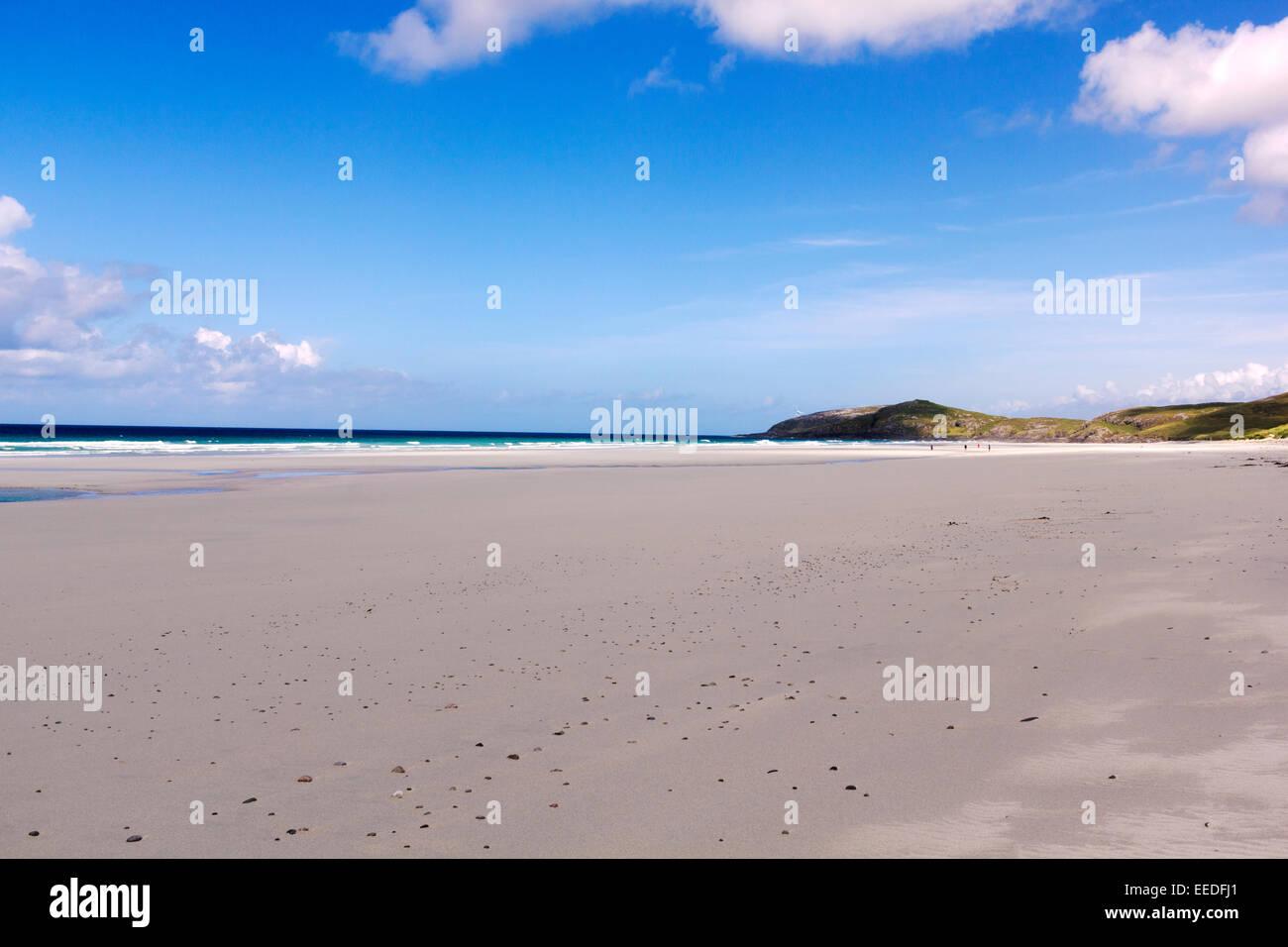 Isle Of Barra, Scotland, Beach - Stock Image