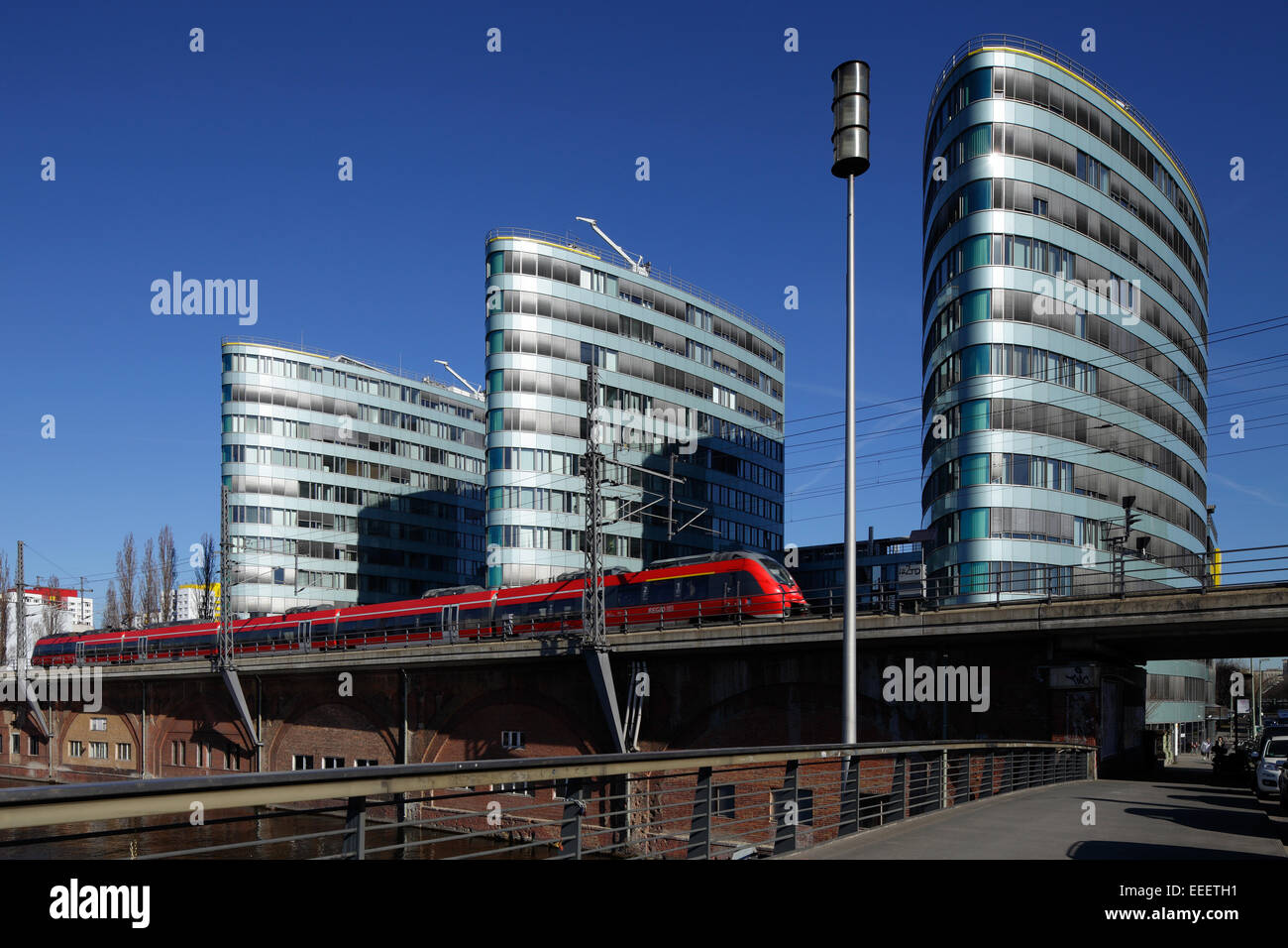 Berlin, Germany, before the Triassic regional - Stock Image