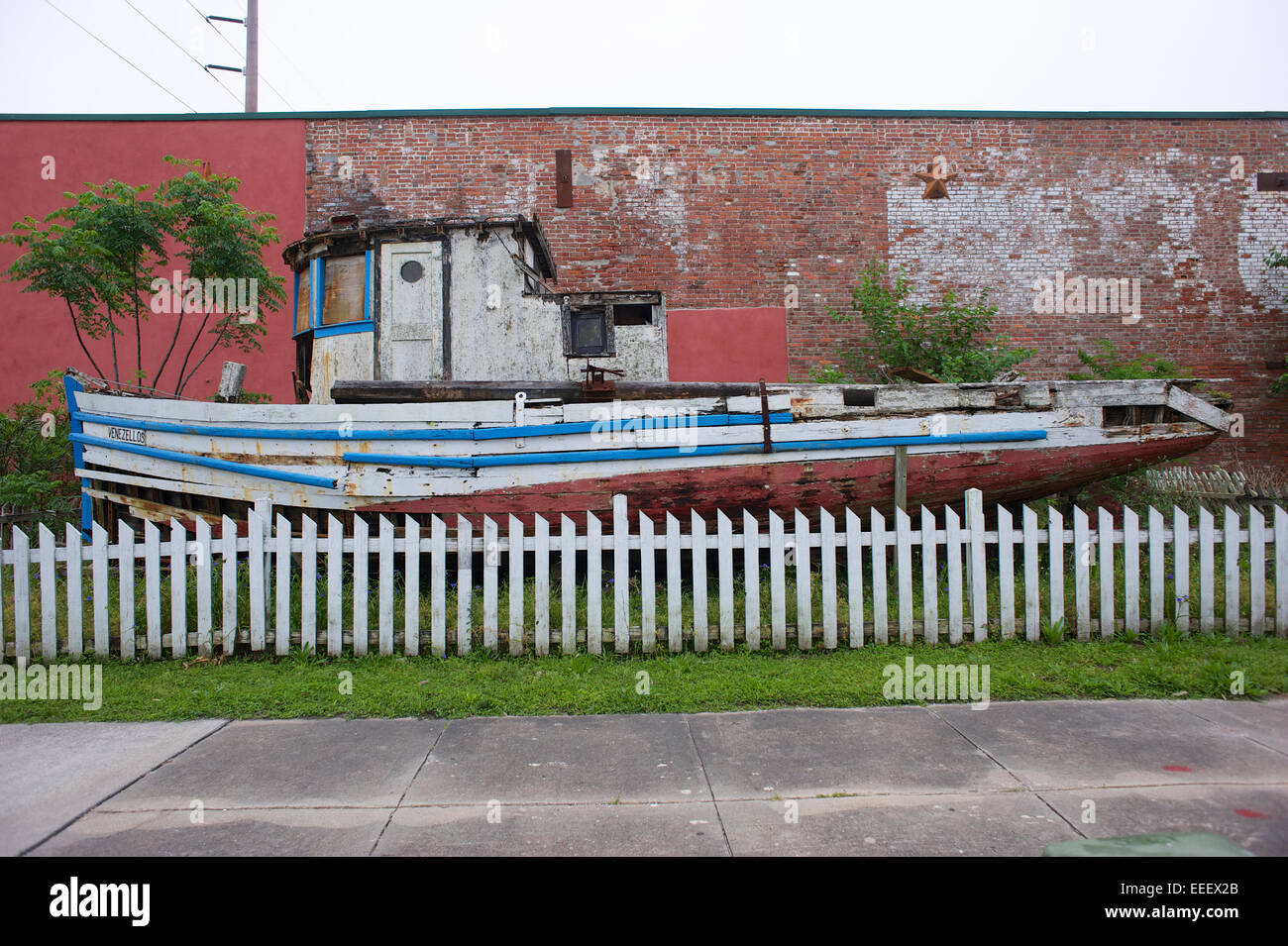 Apalachicola, Florida - Stock Image