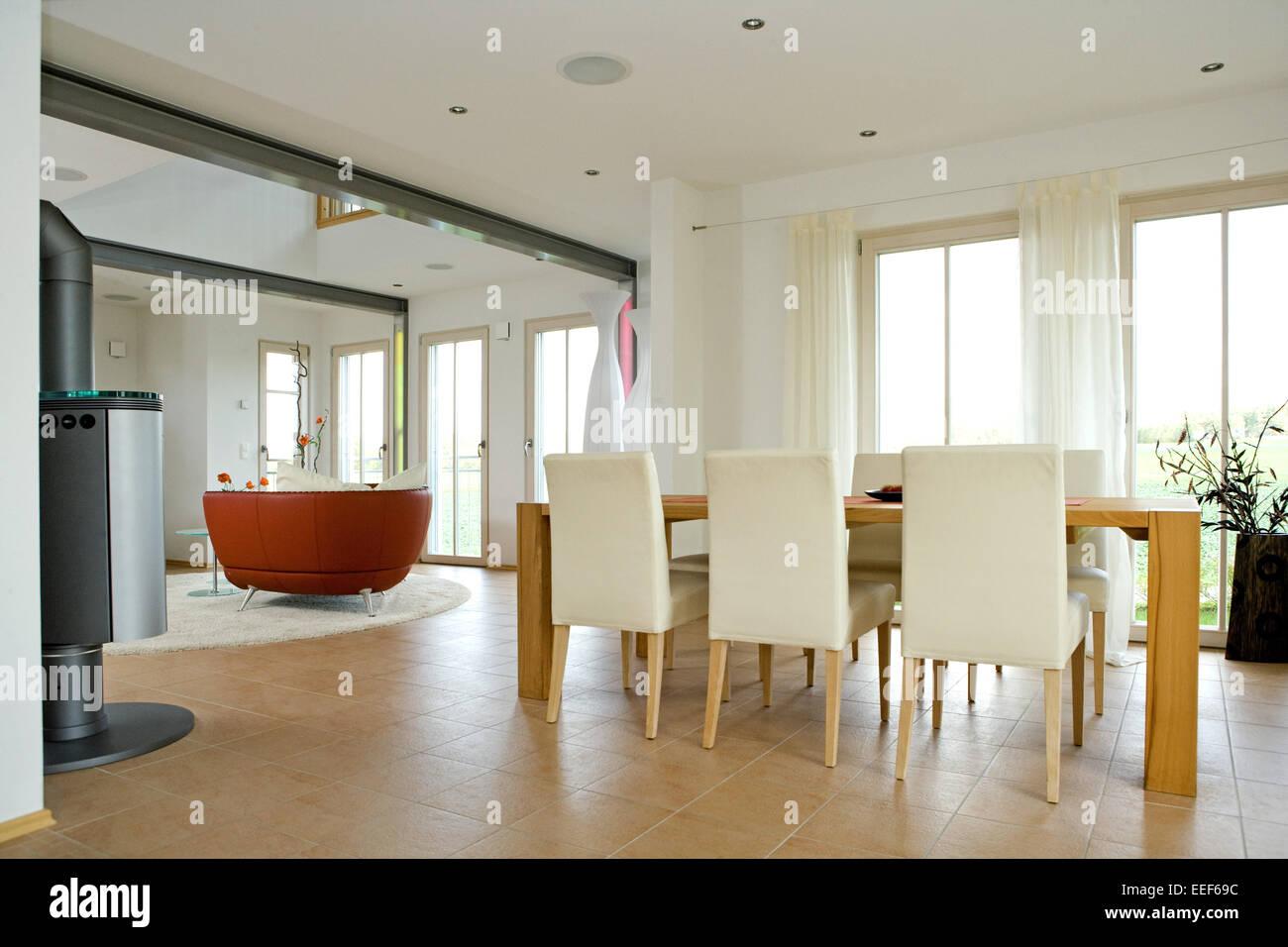 Architektur, Baustil, Dekoration, Einrichtungsgegenstaende, Innenarchitektur, Inneneinrichtung, Interieur, Moebel, Raum, Wohnrau Stock Photo