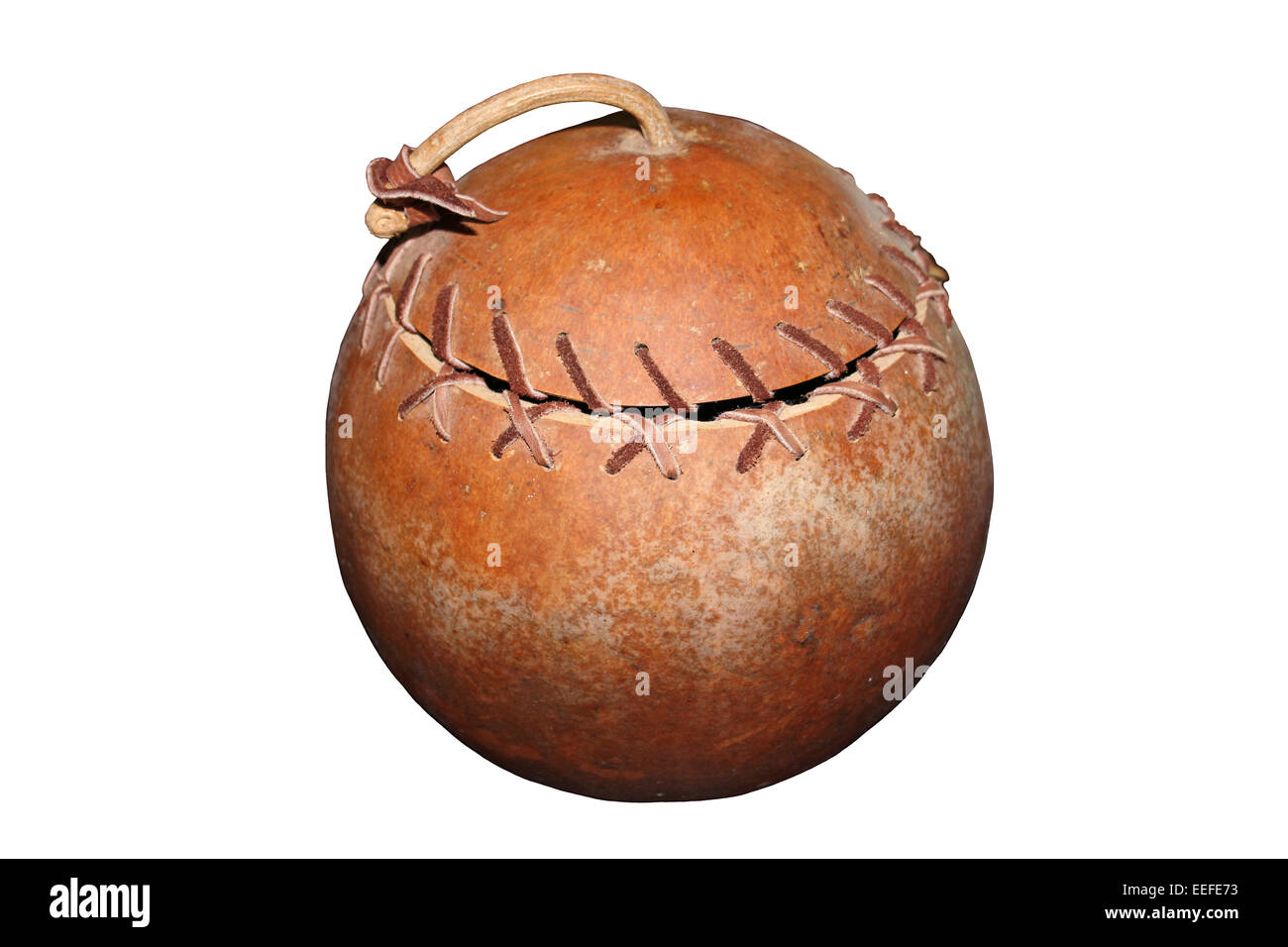 Storage Gourd, Belize Stock Photo