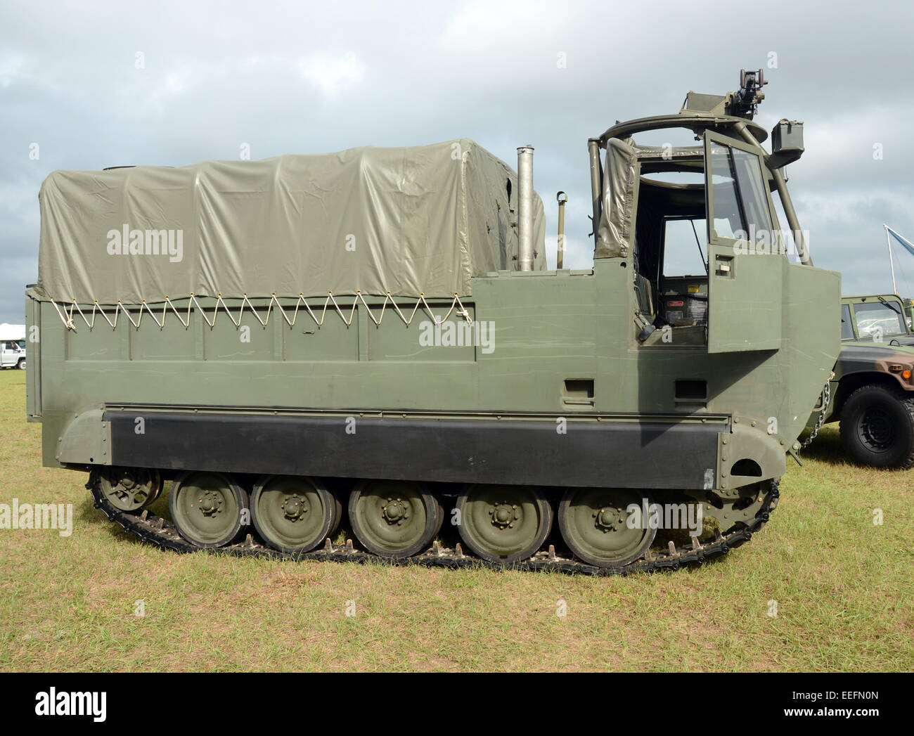 Modern military all terrain vehicle - Stock Image