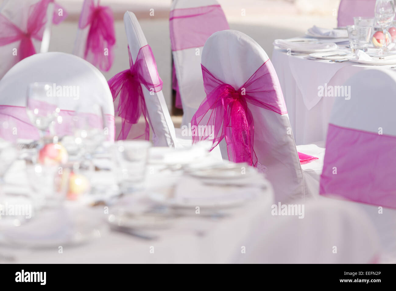 Wedding Table Setup Stock Photos & Wedding Table Setup Stock Images ...