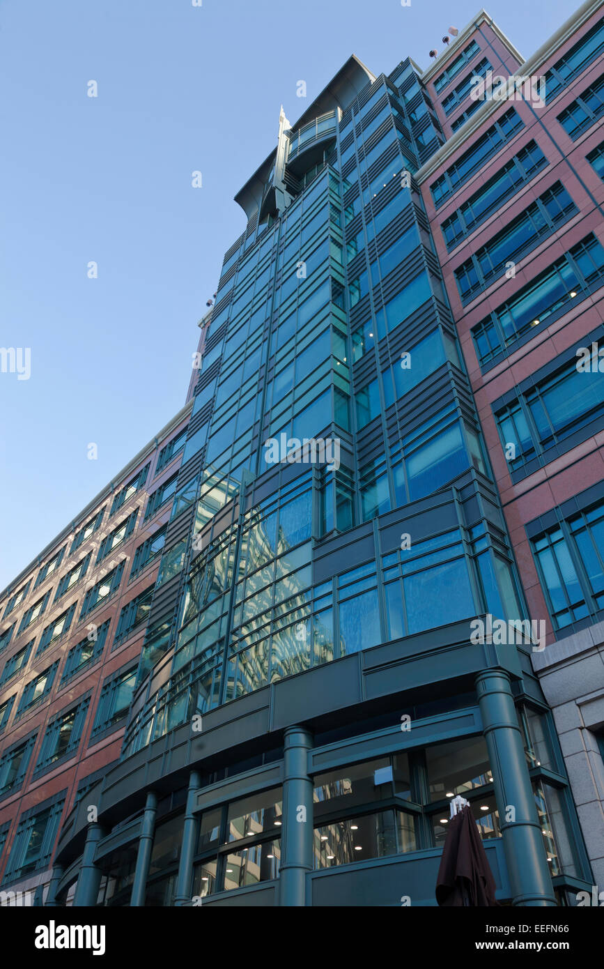 European Bank for Reconstruction and Development , 1 Exchange Square London - Stock Image