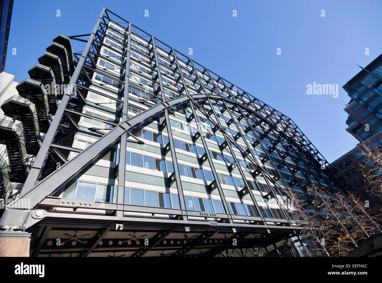 Exchange House at Broadgate complex - Stock Image