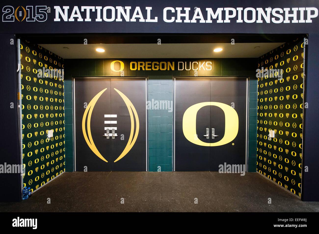 Oregon Locker Room
