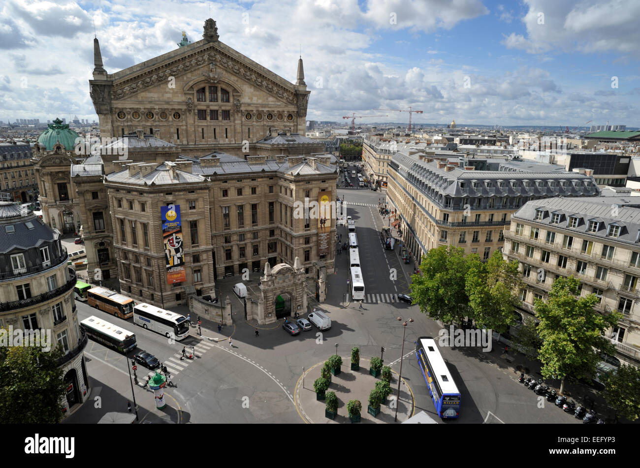 paris, opera garnier - Stock Image
