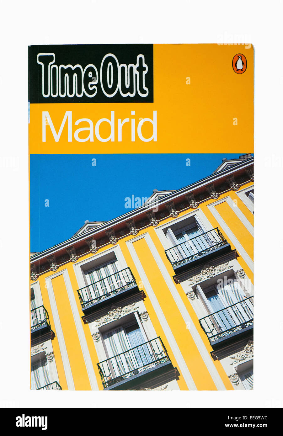 Madrid Time Out Travel Guide - Stock Image