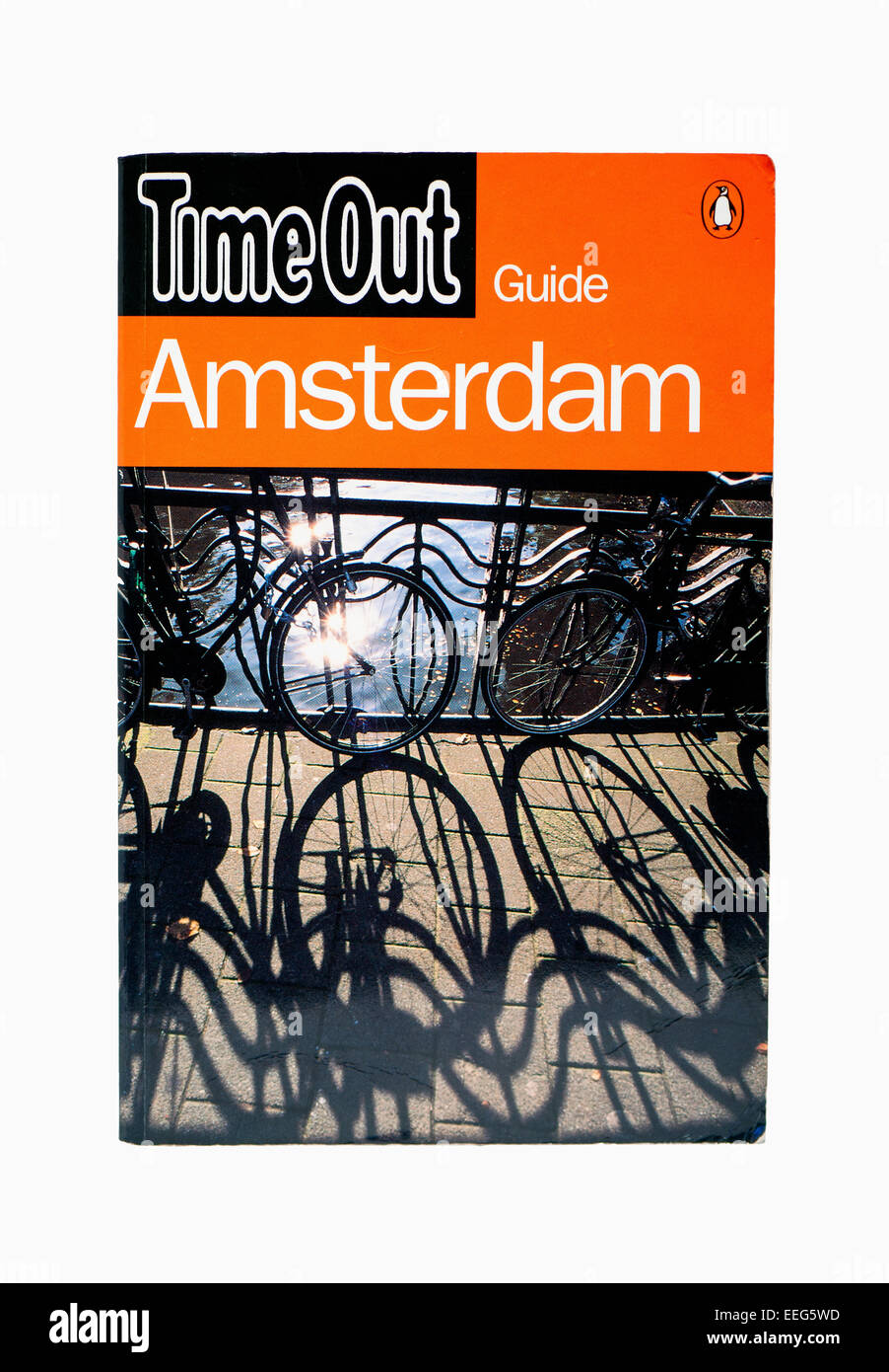 Amsterdam Time Out Travel Guide - Stock Image