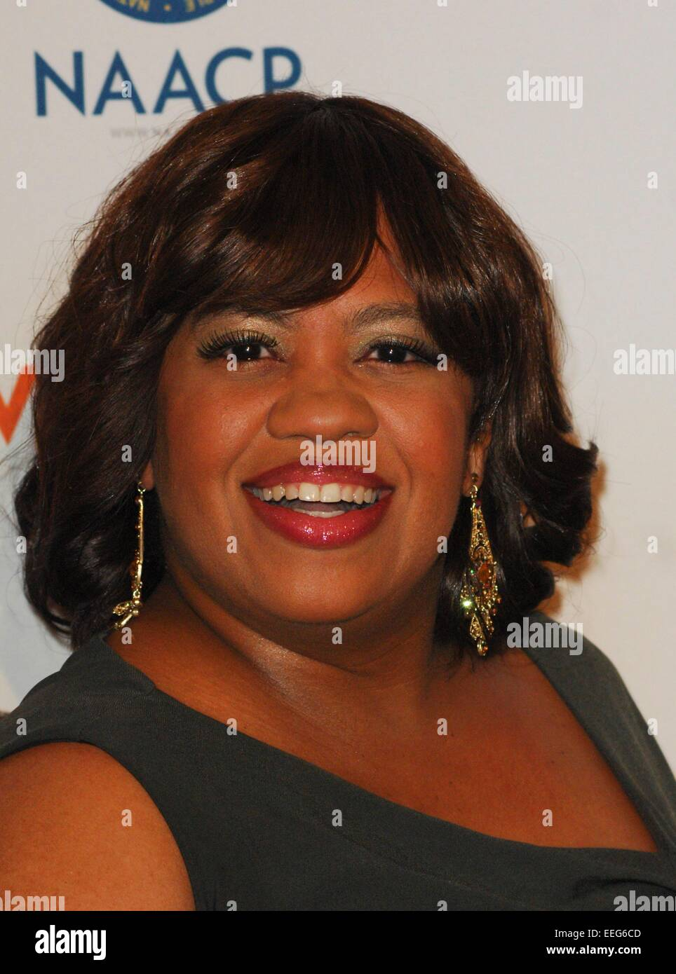 Beverly Hills, CA. 17th Jan, 2015. Chandra Wilson at arrivals for The 46th NAACP Image Awards Nominees' Luncheon, Stock Photo