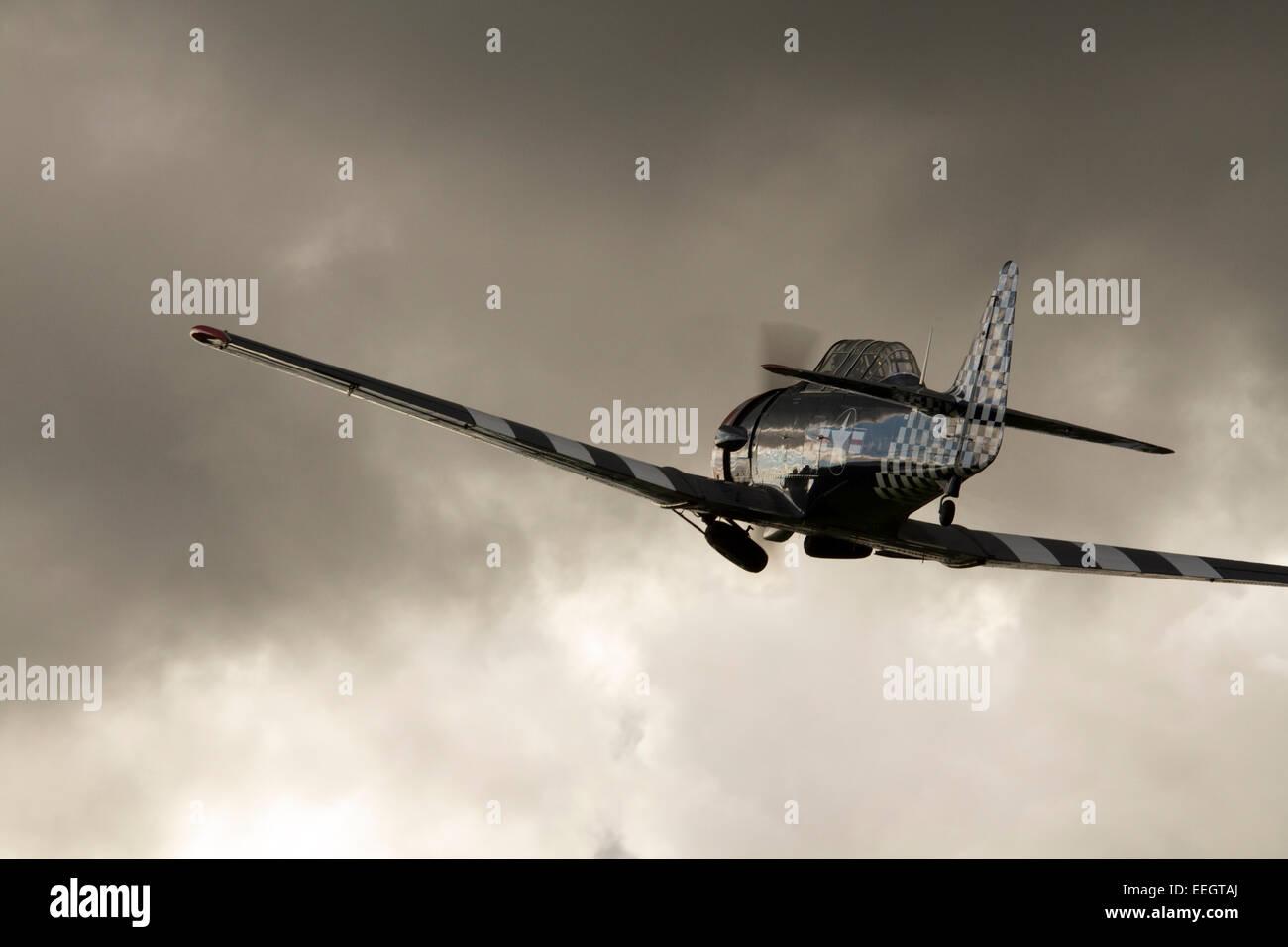 North American T-6 Texan - Stock Image