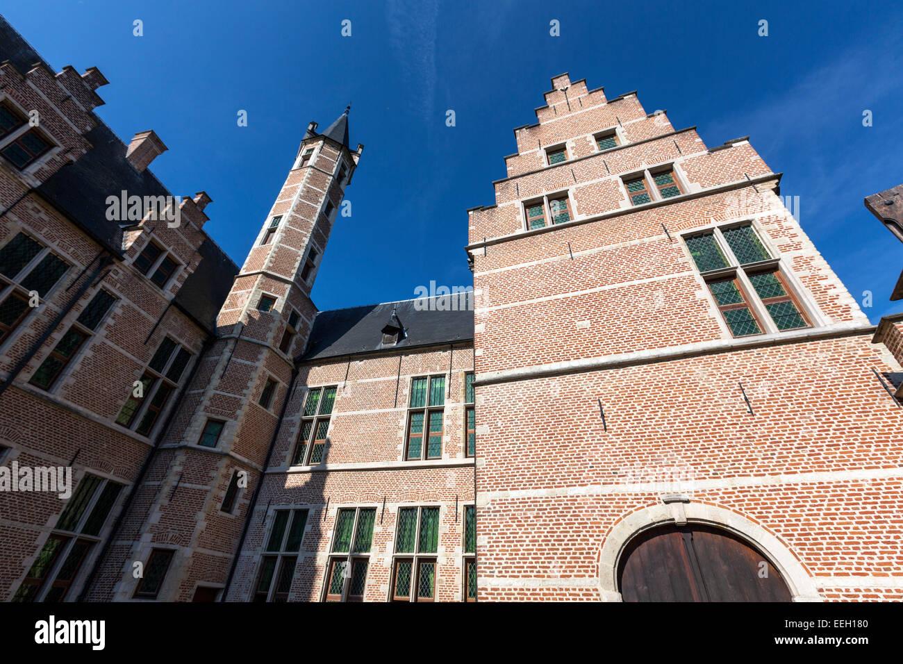 Koninklijke Manufactuur van Wandtapijten De Wit, Mechelen Stock Photo