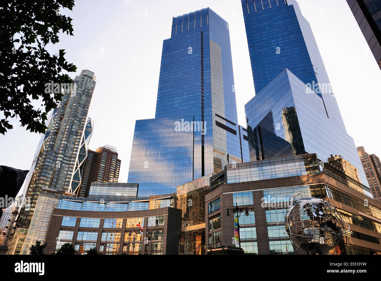 Columbus Circle , NYC Stock Photo