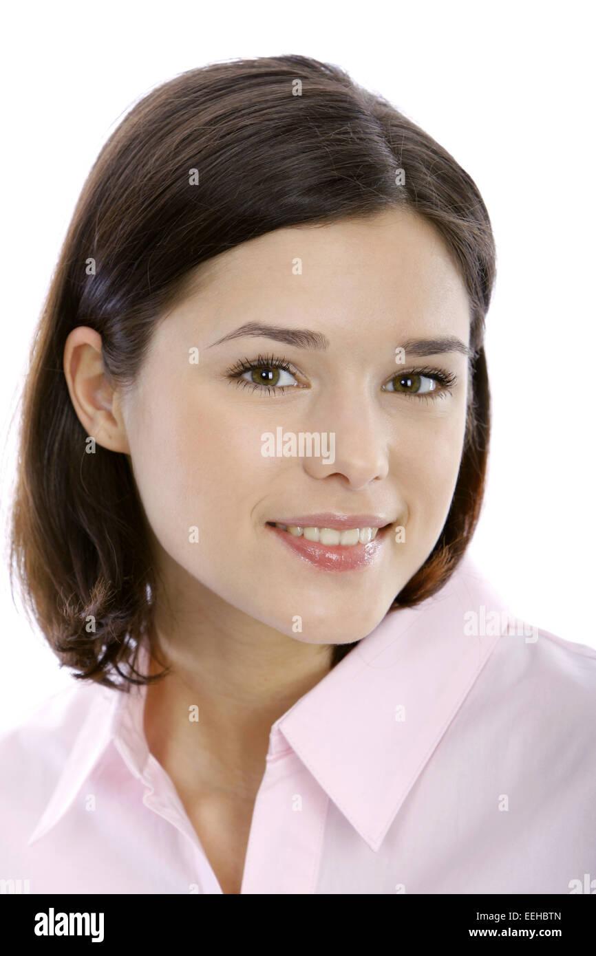 Frau, jung, Blick Kamera, Portrait, 20-30 Jahre