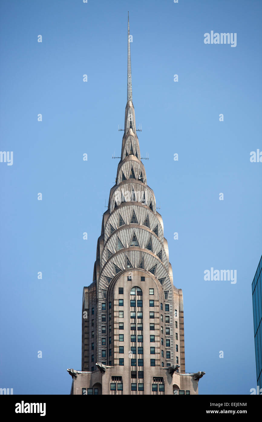 chrysler building, skyscraper,  midtown,  manhattan, new york, usa, america - Stock Image