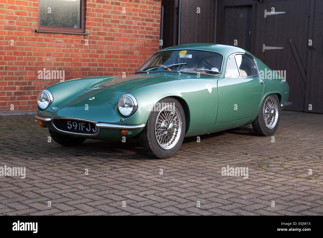 Lotus Elite Classic Car   Stock Image