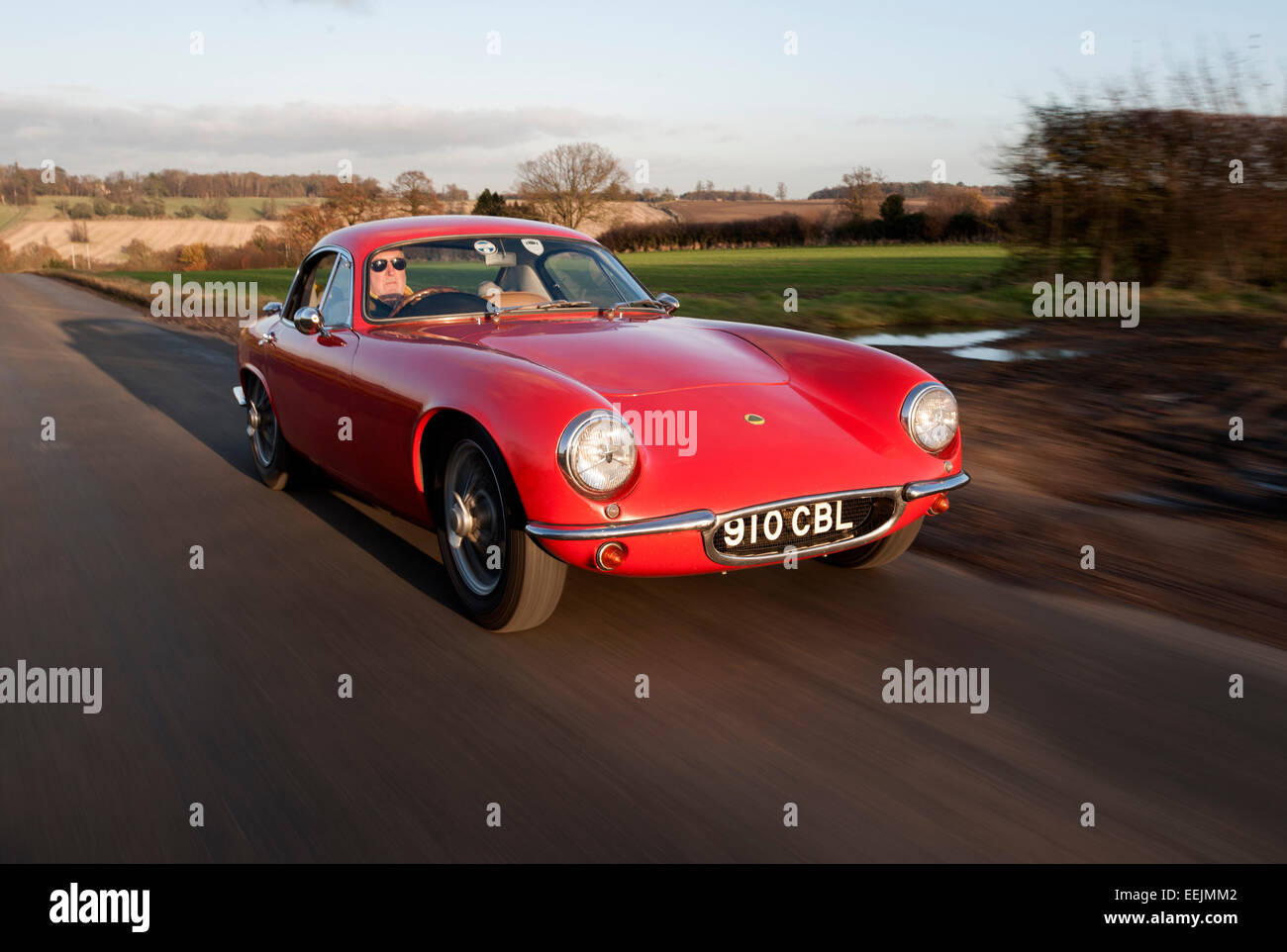 Awesome Lotus Elite Classic Car   Stock Image