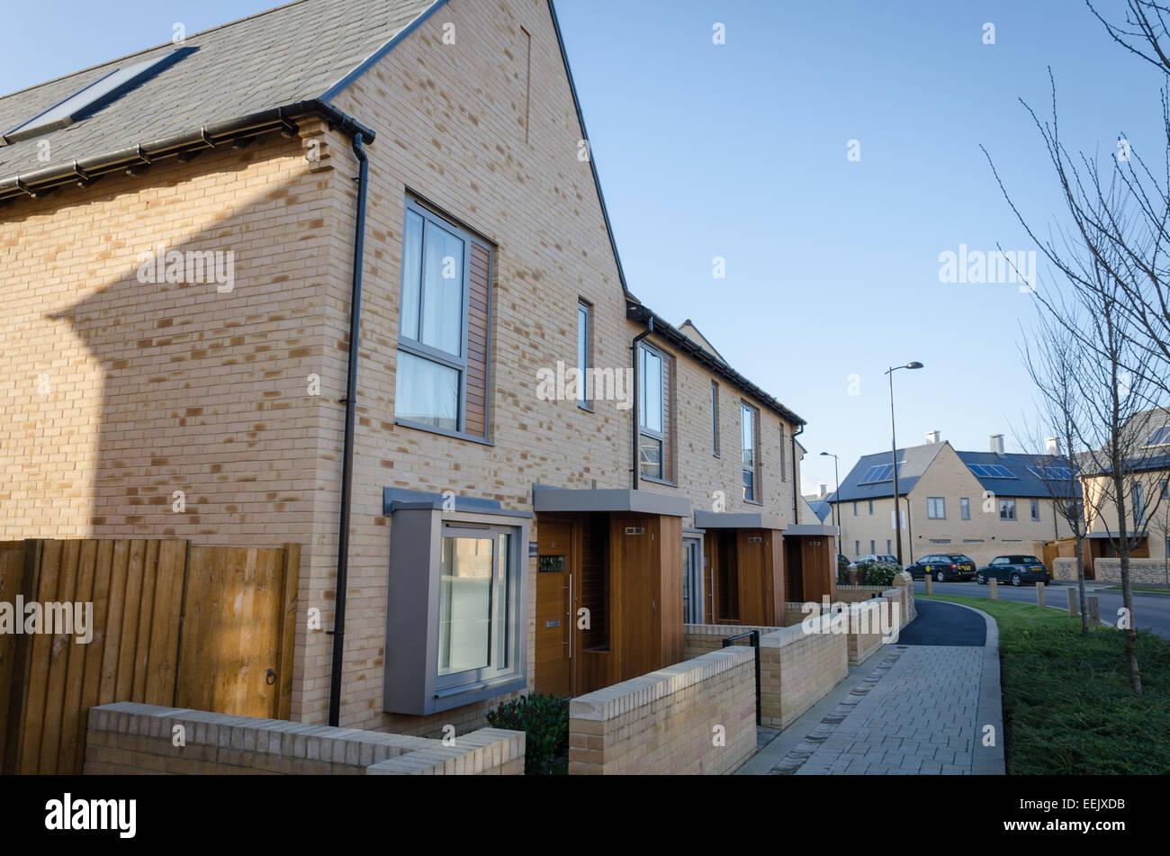 Trumpington meadows new housing development trumpington cambridge uk
