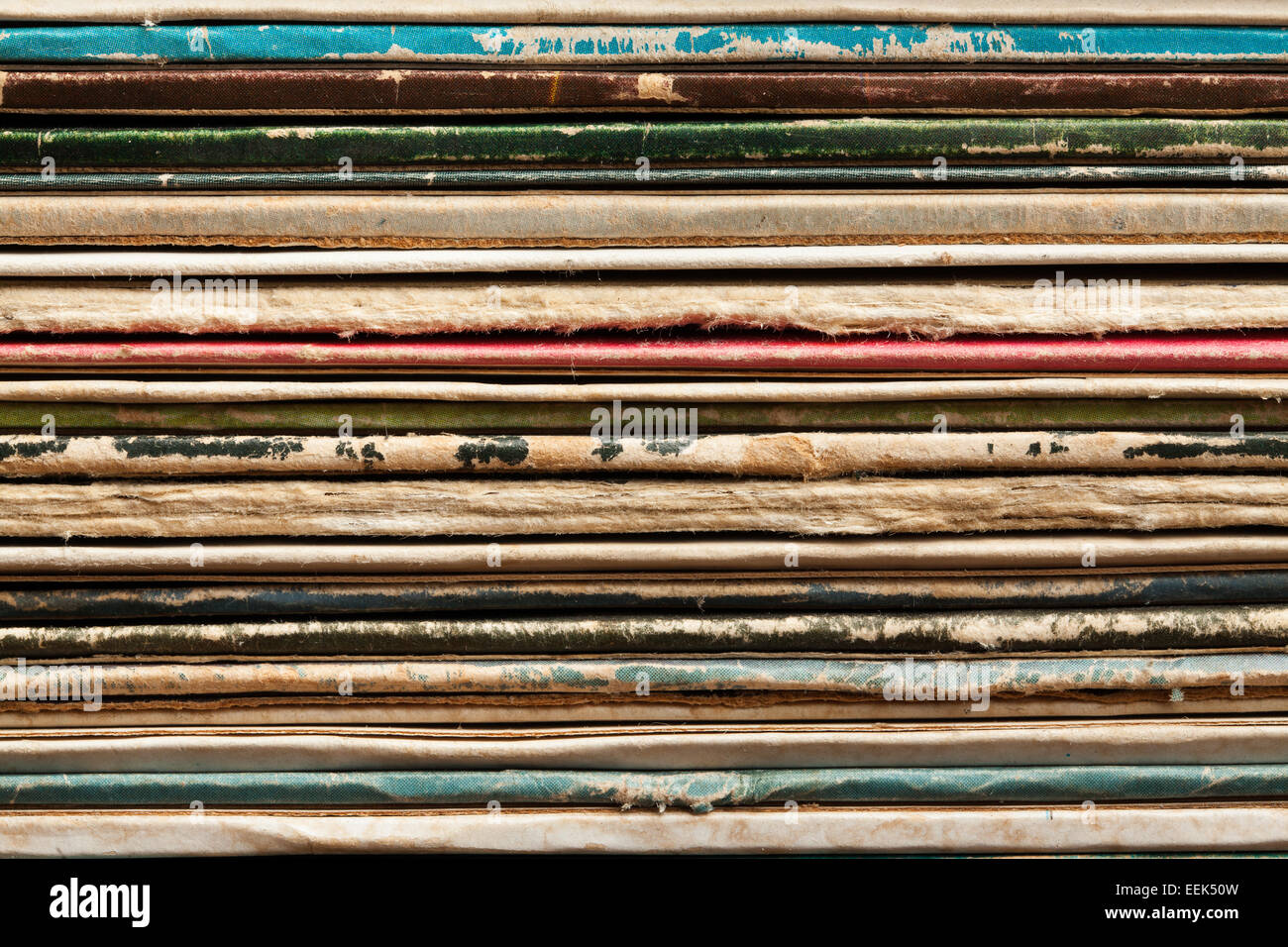 record cover texture - Stock Image