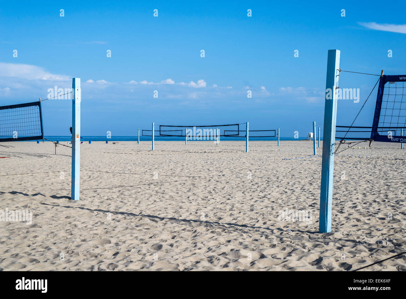 Beach Volleyball Courts High Resolution Stock Photography And Images Alamy