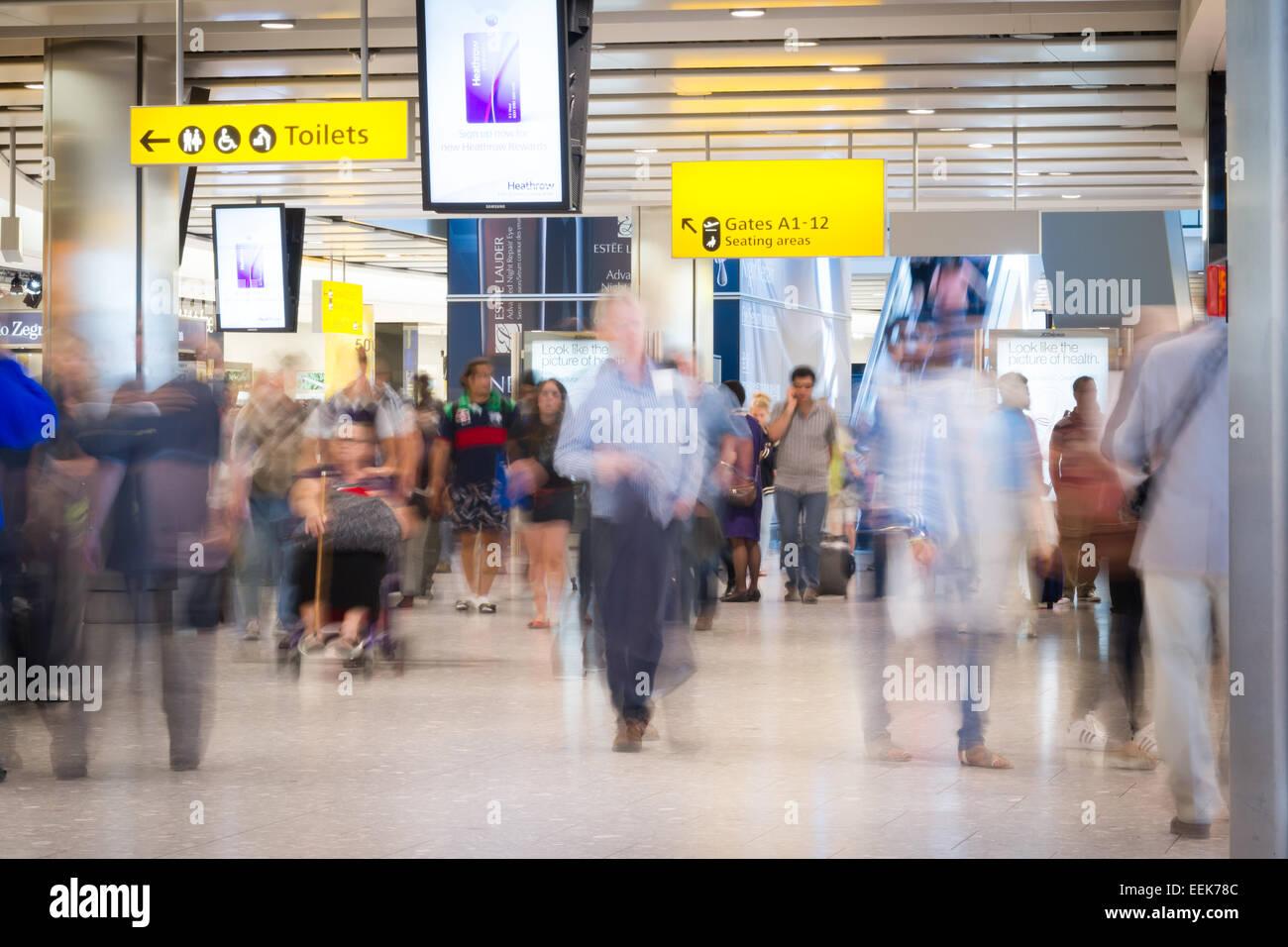 Heathrow Airport. London, UK - Stock Image
