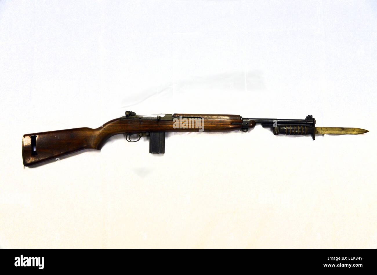 M1 Carbine .30in USA 1941 - Stock Image