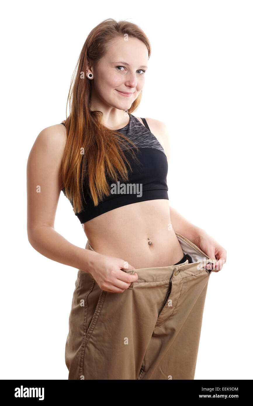 weight loss - Stock Image