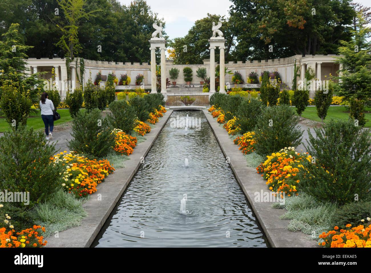 Untermyer Gardens Conservancy In Yonkers Ny Stock Photo 77871981