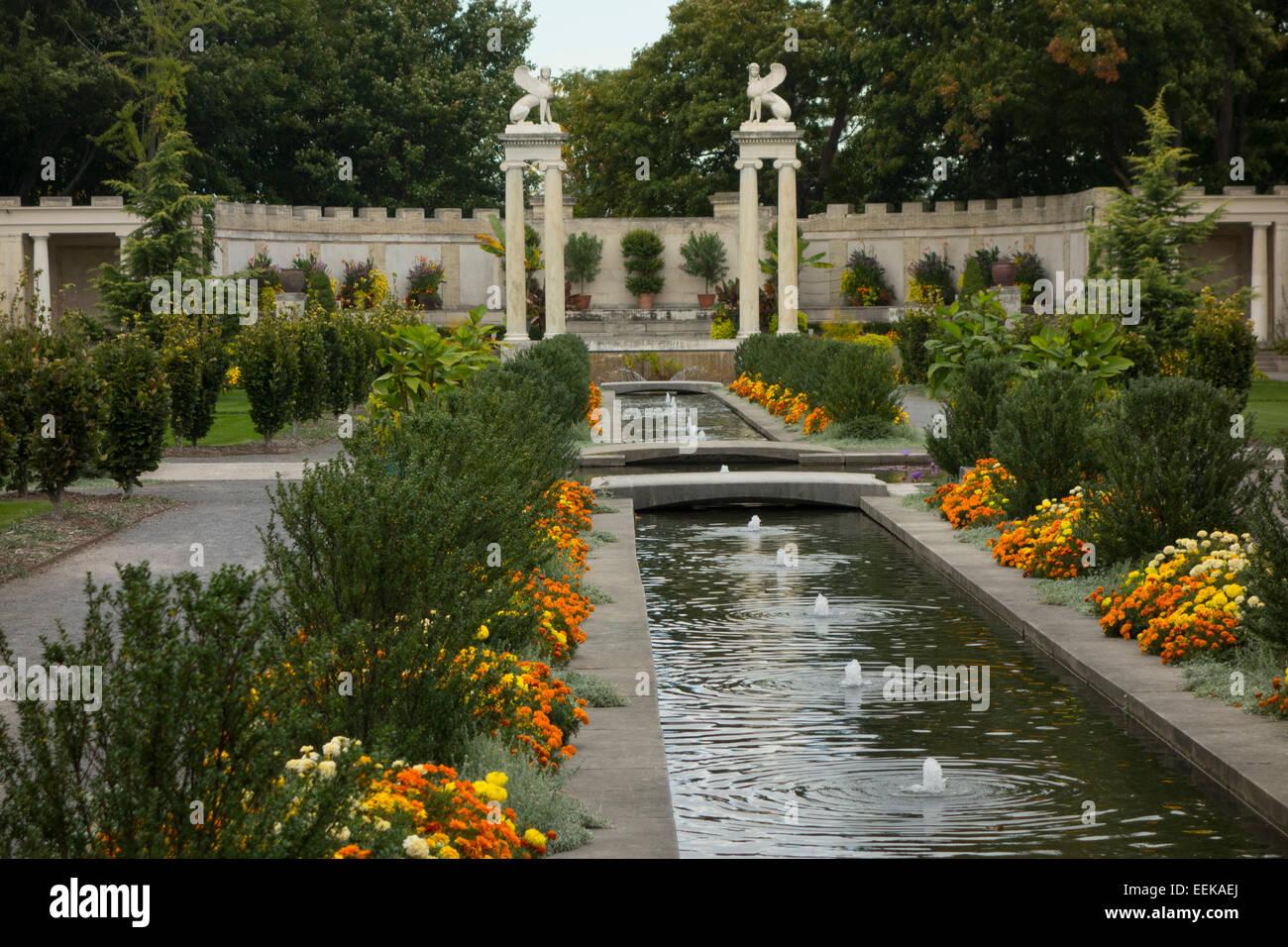Untermyer Gardens Conservancy In Yonkers Ny Stock Photo 77871994