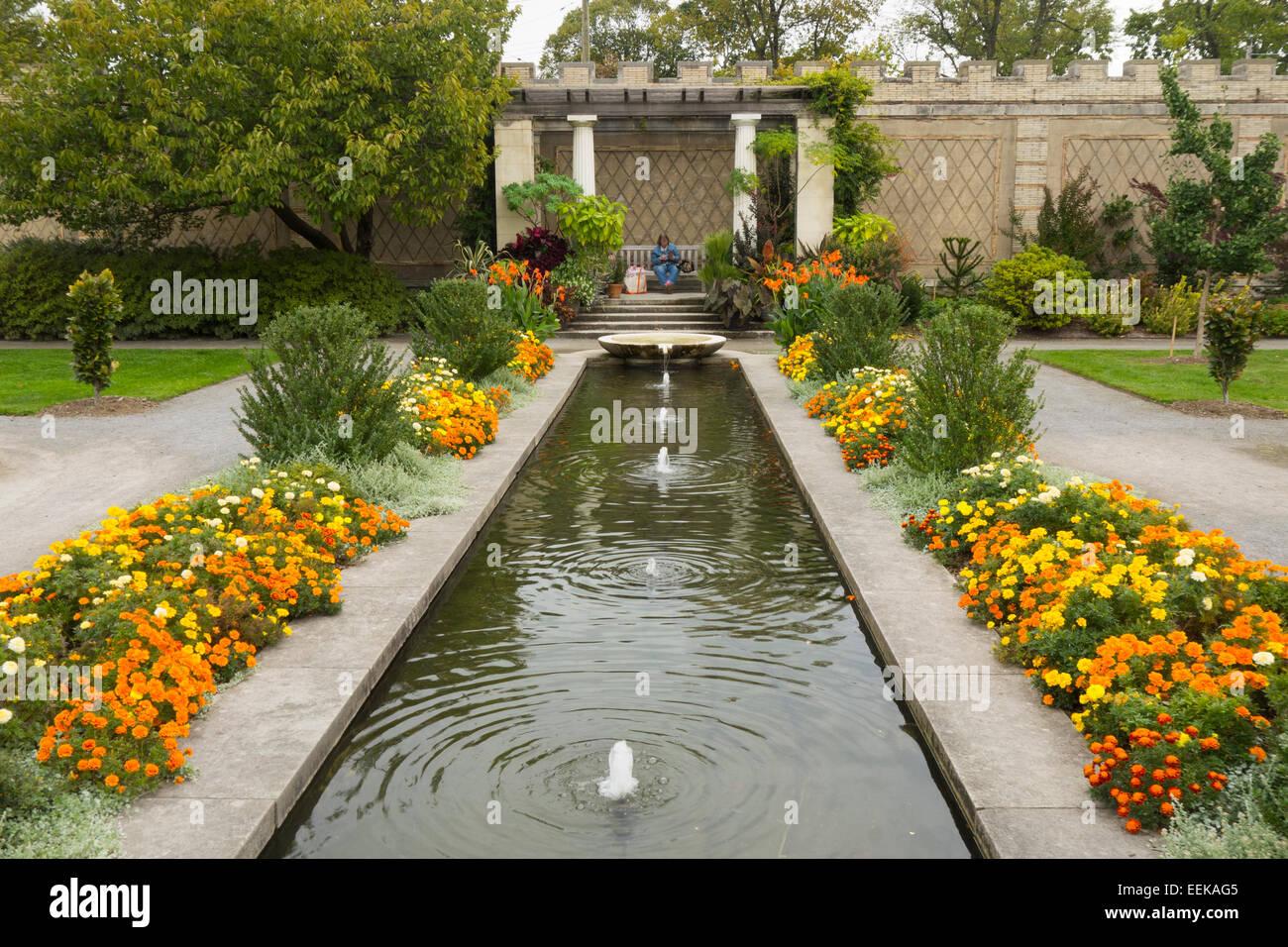 Untermyer Gardens Conservancy In Yonkers Ny Stock Photo 77872037