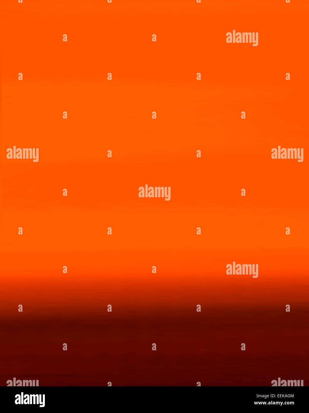 Abstract colour - Burnt Orange - Stock Image