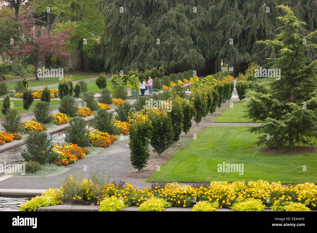 Untermyer Gardens Conservancy In Yonkers Ny Stock Photo 77872072