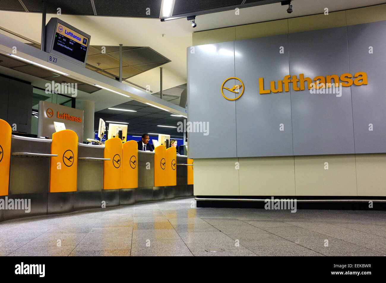 Lufthansa Gate Frankfurt