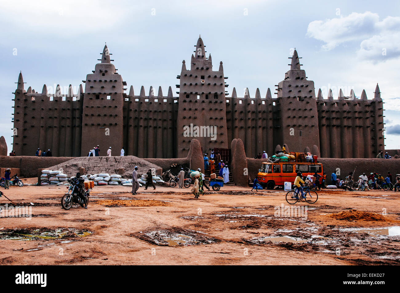 Great mosque of Djenne. Mali Stock Photo