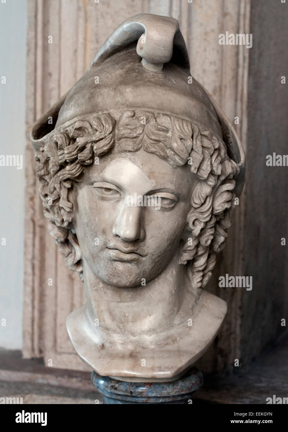 Paris, Roman Copy  from the original Greek of the fourth century BC Roman Rome Capitoline Museum Italy Italian ( - Stock Image