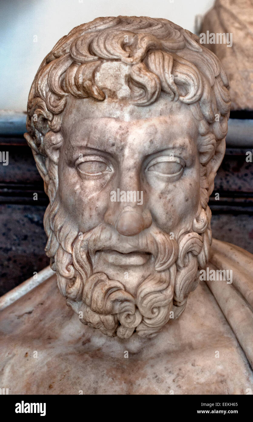 Metrodorus of Chios ( 4th century BC) was a Greek philosopher, belonging to the school of Democritus, and an important - Stock Image