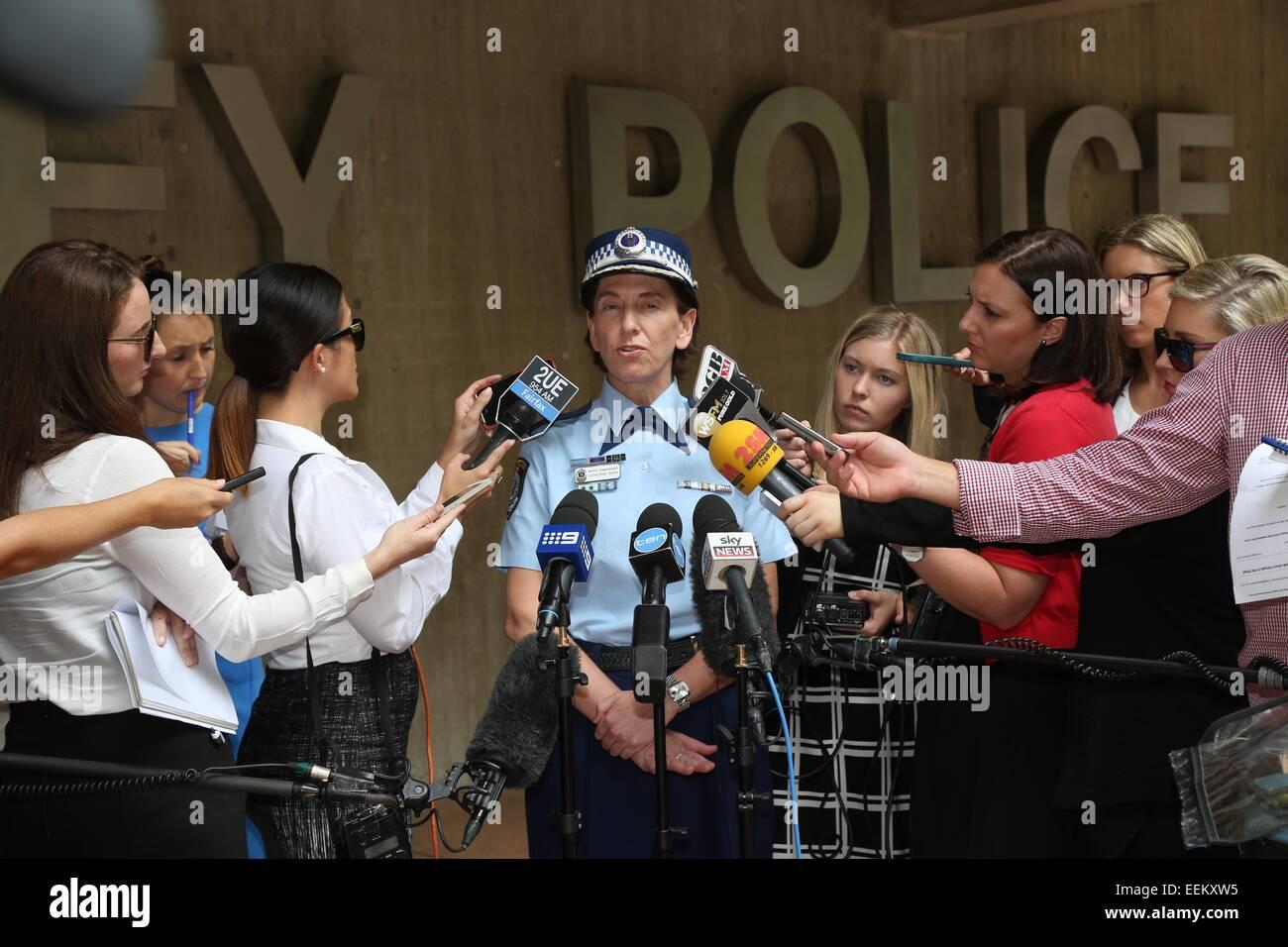 Sydney, Australia  20 January 2015  Acting NSW Police
