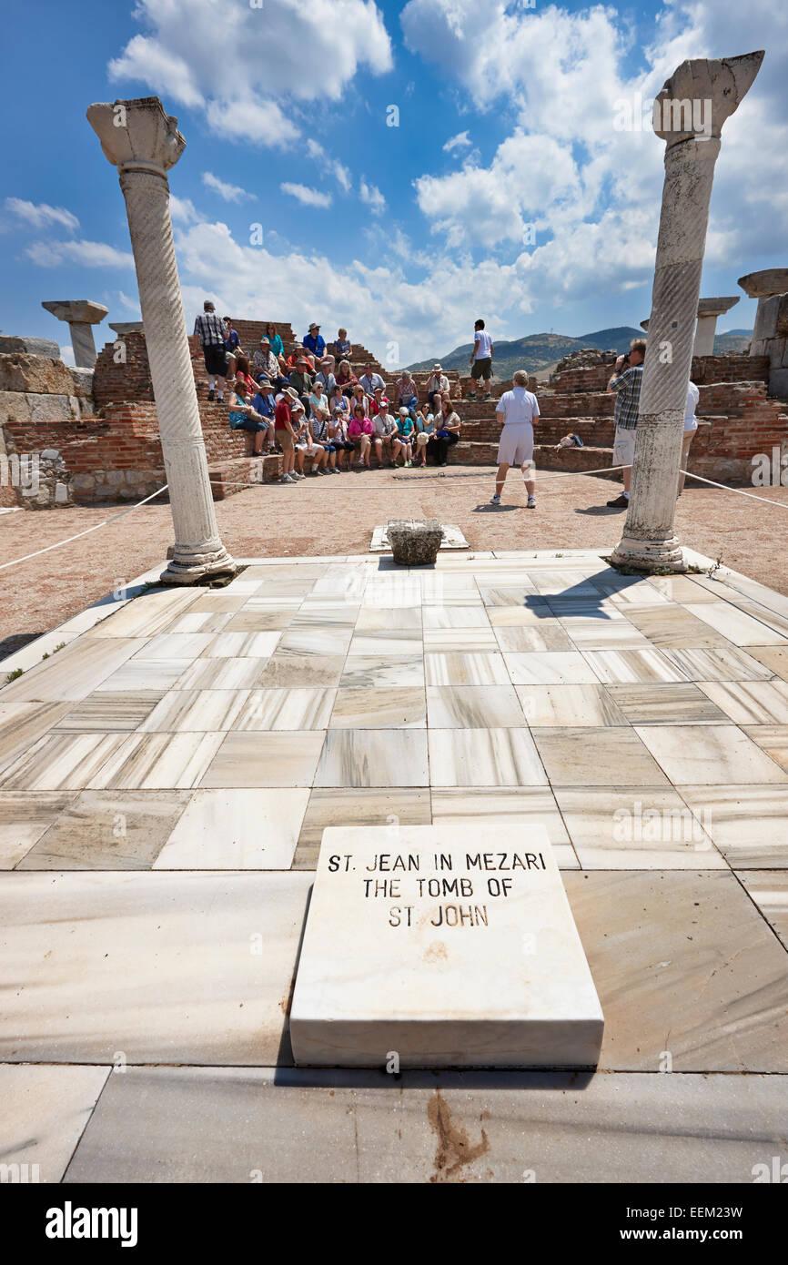 The Tomb of Saint John. Selcuk, Turkey. - Stock Image