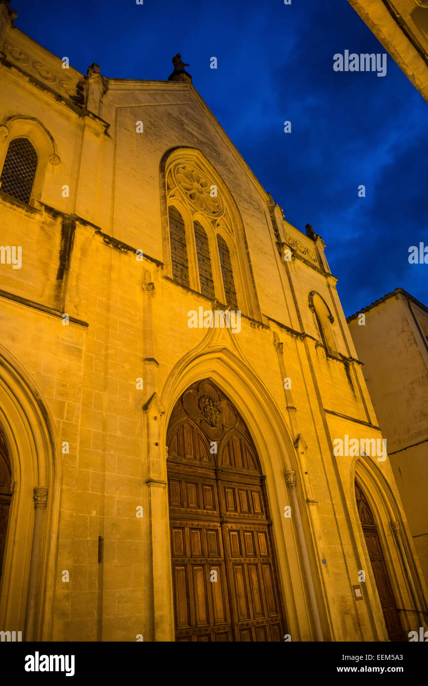 Chapel of the Blue Penitents, Montpellier, France - Stock Image