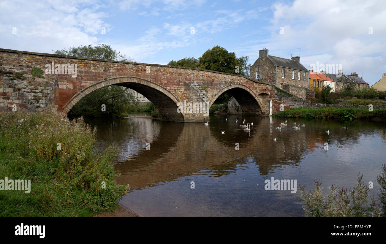 Nungate Bridge, Haddington, East Lothian, Scotland - Stock Image