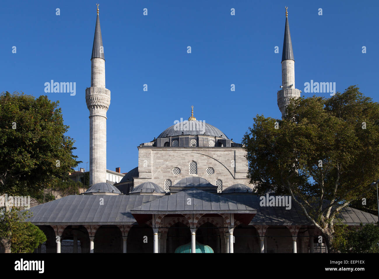 Mihrimah Sultan Mosque in Uskudar, Istanbul, Turkey. - Stock Image