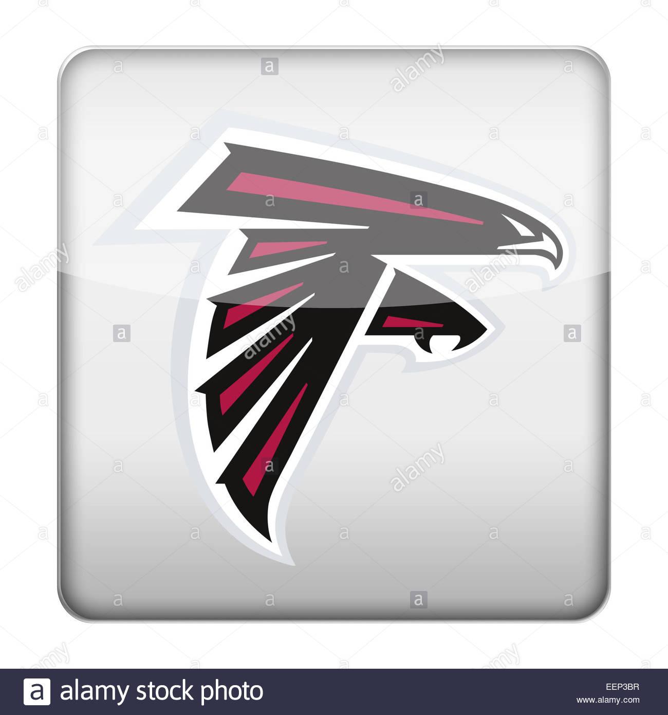 Atlanta Falcons Logo Icon Stock Photo 77932283 Alamy
