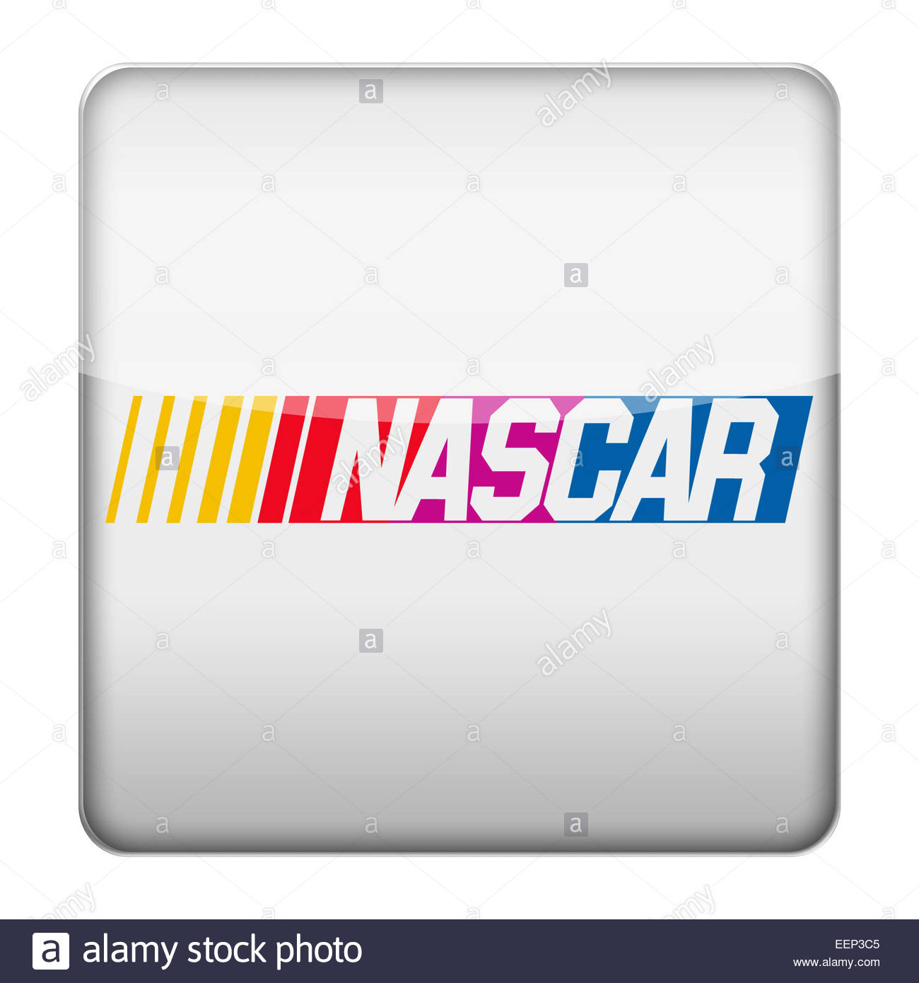 Nascar Logo Icon Stock Photo 77932293 Alamy