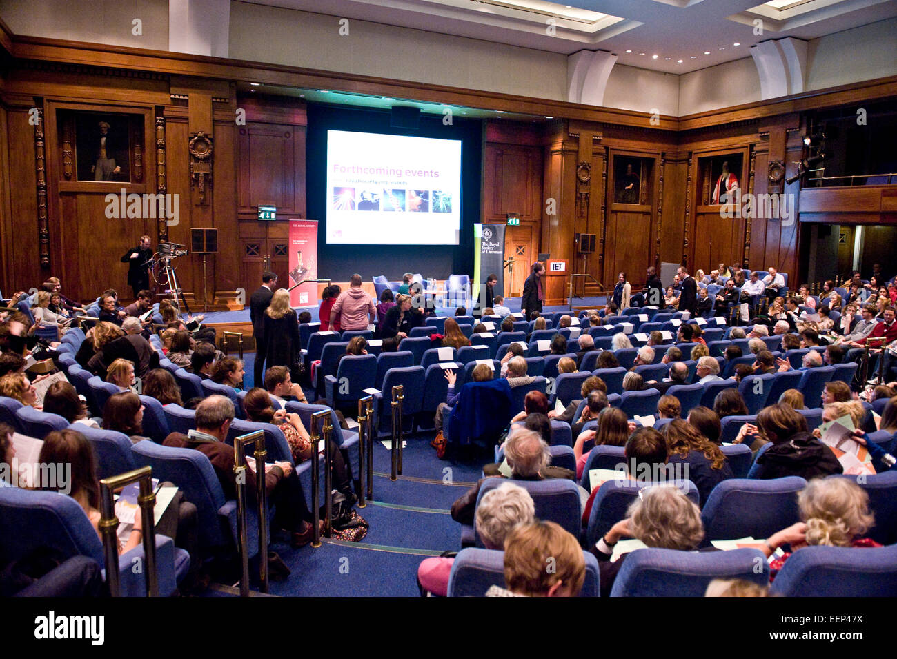 A problem shared: securing a future for our planet Margaret Atwood in conversation with Sir Brian Hoskins Chaired - Stock Image