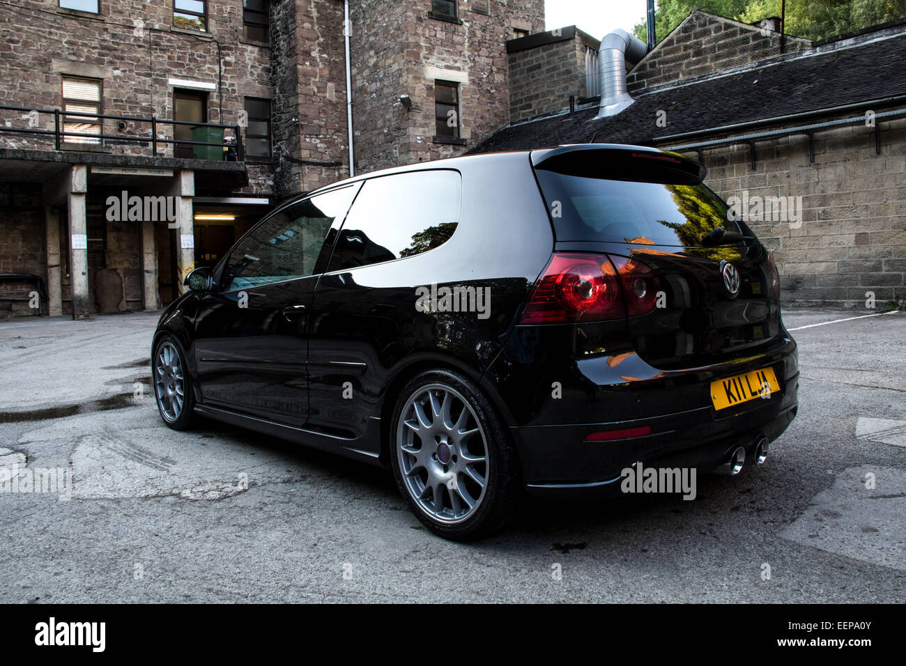 Super Clean and Shiny Volkswagen VW Golf GTi - Stock Image