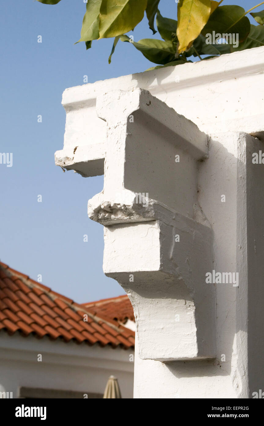 I beam beams precast concrete structural engineer engineers engineering load loads force forces weight baring structure - Stock Image