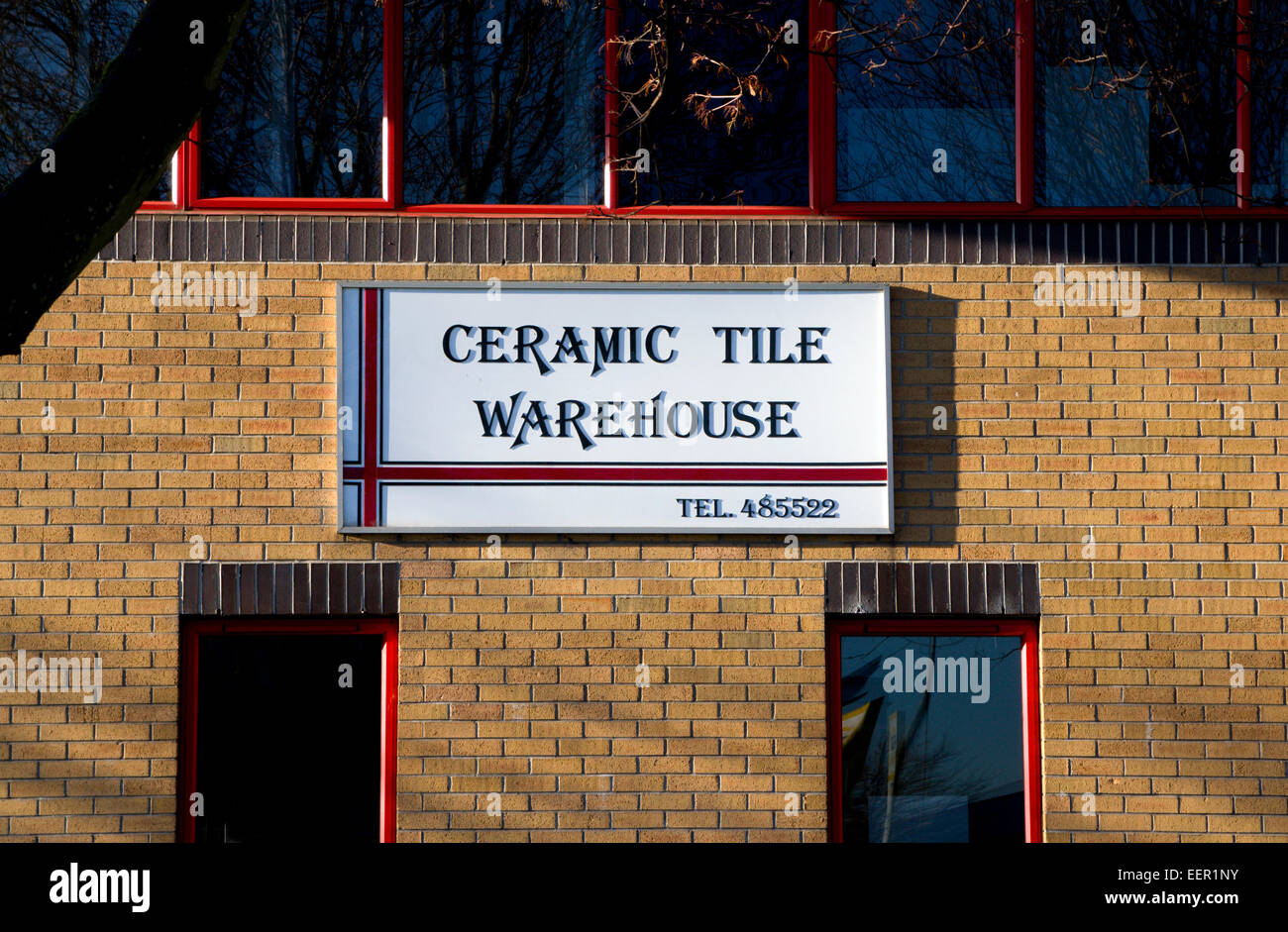 Ceramic Tile Warehouse Ocean Way Cardiff South Wales UK Stock - Discount tile warehouse near me